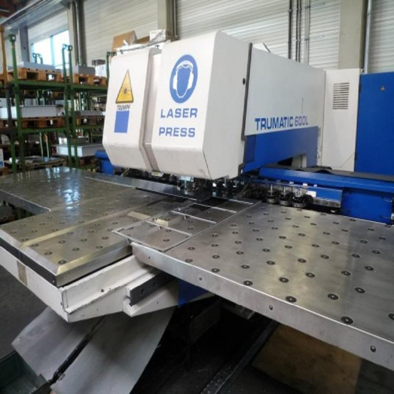 TRUMPF TC 600 L -1300 COMBINATION LASER PUNCH 1997-1